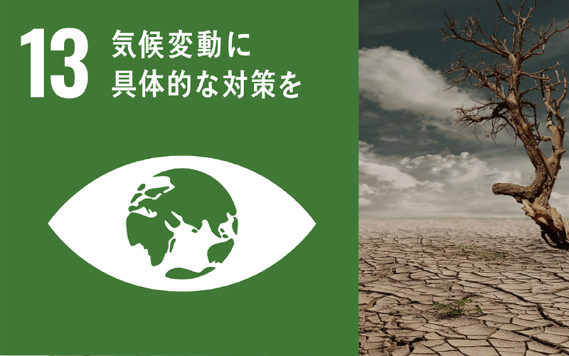 気候変動に具体的な対策を