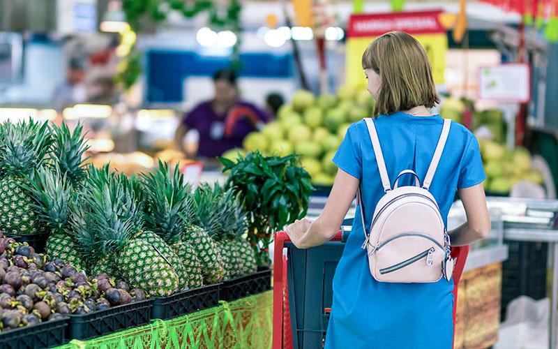 SDGsなスーパーでお買い物